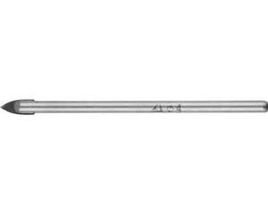 Сверло по кафелю, керамике, стеклу, с двумя режущими лезвиями, цилиндрический хвостовик, 4 мм, STAYER 2986-04