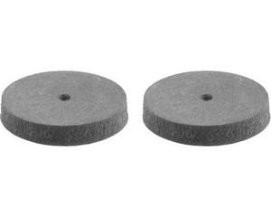 STAYER d=22 мм, круг шлифовально-полировальный, резина + карбон, 2шт