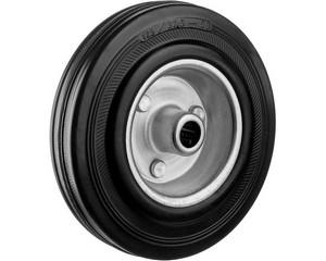 Колесо d=125 мм, г/п 100 кг, резина/металл, игольчатый подшипник, ЗУБР Профессионал