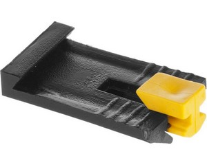 ЗАМШ-П  100 шт зажим пластиковый для маячкового профиля, ЗУБР