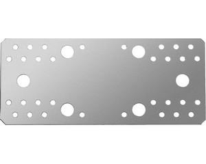 Крепежная пластина КП-2.5, 210х90 х 2.5мм, ЗУБР