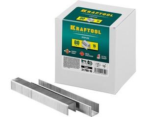 KRAFTOOL 16  мм скобы для степлера тип 80, 5000 шт