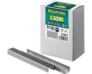 KRAFTOOL 8  мм скобы для степлера тип 80, 5000 шт