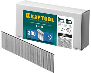 KRAFTOOL 30  мм гвозди  для нейлера тип 300, 5000 шт