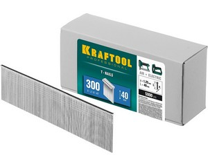 KRAFTOOL 40  мм гвозди  для нейлера тип 300, 5000 шт