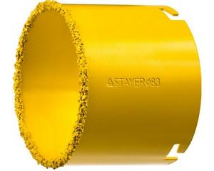 """Коронка STAYER """"PROFESSIONAL"""" кольцевая с карбидно-вольфрамовой крошкой, d=83мм"""