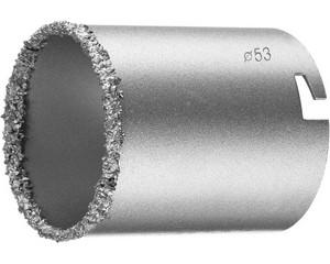 Кольцевая коронка с карбид-вольфрамовой крошкой, KRAFTOOL, EXPERT, 33401-53_z01