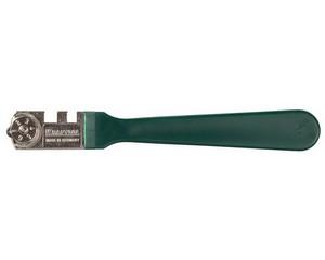 Стеклорез KRAFTOOL роликовый, 1 режущий элемент, с пластиковой ручкой