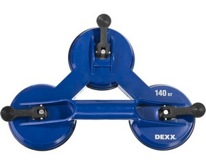 Подъемник тройной на присоске, DEXX, 33728-3