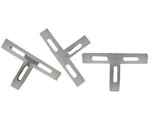 Крестики ЗУБР Т-образные для кафеля, 6мм, 75шт
