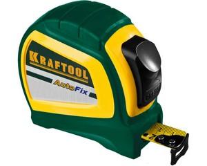 KRAFTOOL AutoFix 8м / 25мм рулетка с автостопом