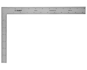 ЗУБР УПН-60  600 х 400 мм  широкий плотницкий нержавеющий угольник