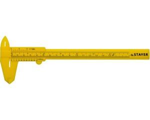 STAYER STANDARD штангенциркуль пластмассовый, 150 мм
