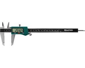 KRAFTOOL штангенциркуль электронный, металлический, 200мм