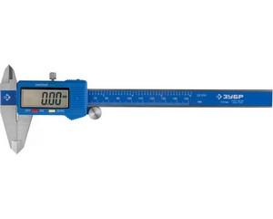 ЗУБР ЭКСПЕРТ, ШЦЦ-I-150-0,01 штангенциркуль электронный, нерж сталь, 150мм