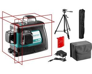 KRAFTOOL LL 3D #3 нивелир лазерный со штативом ST-160, в коробке