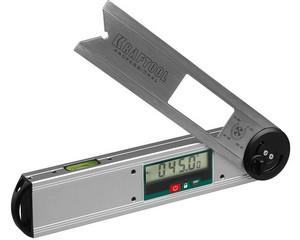 DAM-27 Угломер электронный, 250 мм, Диапазон 0-225°, Точность ±0,1°, Функция HOLD, Фиксация угла, Выбор позиции нуля, KRAFTOOL