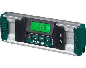 EXTREM уровень-уклономер электронный, 0-360°, Точность 0,05°, HOLD, Подсветка экрана, IP67, KRAFTOOL