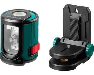 CL20 #2 Нивелир лазерный линейный,  держатель с микролифтом  ММ1, 20м, IP54, точн. 0,2 мм/м, KRAFTOOL