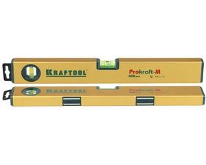 Kraftool EXPERT  400 мм, магнитный уровень с зеркальным глазком