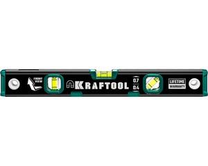 Kraftool 400 мм, магнитный уровень с зеркальным глазком