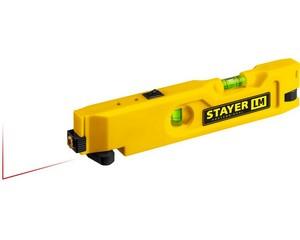 STAYER LM уровень лазерный, 20м, точность лазера +/-0,5 мм/м, точность колбы +/-1,5 мм/м