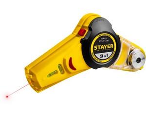 STAYER Drill Assistant уровень с приспособлением для сверления, 7м, точн. +/-1,5 мм/м