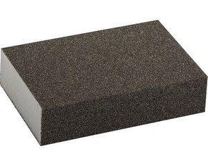 Губка шлифовальная четырехсторонняя, ЗУБР, МАСТЕР, 35611-080