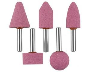 """Набор ЗУБР """"МАСТЕР"""": Абразивные минишарошки-насадки для  дрели, оксид алюминия высокой твердости, хвостовик d 6мм, 5 предм."""