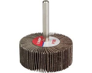 ЗУБР  d 50x20 мм, P100, круг шлифовальный лепестковый
