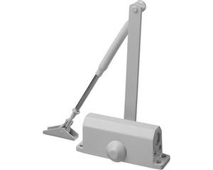 Доводчик дверной STAYER, для дверей массой до 40 кг, цвет белый