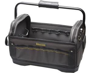 Каркасная инструментальная сумка с жестким пластиковым дном, 46.5 х 27.5 х 28см, KRAFTOOL, INDUSTRIE, 38741