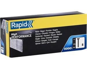 RAPID 15 мм гвозди супертвердые, закаленные тип 300 (F / J / 47 / 8), 5000 шт