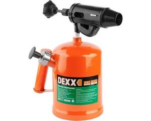 DEXX. Лампа паяльная, стальная, 1,5 л