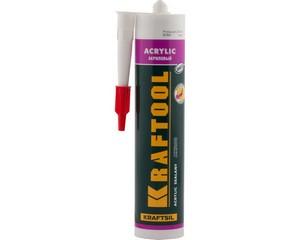 Герметик акриловый KRAFTOOL Kraftsil AX200, KRAFTOOL, 41251-0