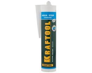 Герметик cтекольный силиконовый KRAFTOOL Kraftsil GX107 АQUA STOP, KRAFTOOL, 41256-2