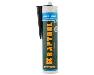 Герметик cтекольный силиконовый KRAFTOOL Kraftsil GX107 АQUA STOP, KRAFTOOL, 41256-4