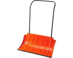 Движок для снега стальной, 750х410мм, СИБИН, 421838