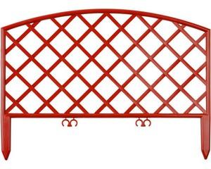 Забор декоративный «ПЛЕТЕНЬ», GRINDA, 422207-T