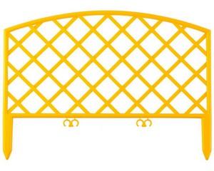 Забор декоративный «ПЛЕТЕНЬ», GRINDA, 422207-Y