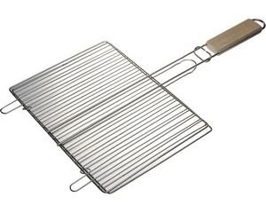 """Решетка-гриль GRINDA """"BARBECUE"""", плоская, нержавеющая сталь, 300х225мм"""