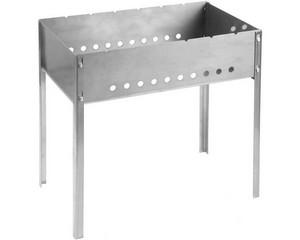 """Мангал GRINDA """"BARBECUE"""", нержавеющая сталь, толщина 1,5мм, 500х300х500мм"""