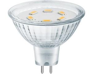 "Лампа СВЕТОЗАР светодиодная ""LED technology"", цоколь GU5.3, теплый белый свет (3000К), 230В, 3Вт (25)"
