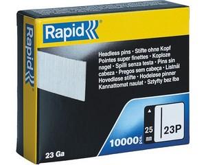 RAPID 25 мм гвозди супертвердые, закаленные тип 23P, 10000 шт