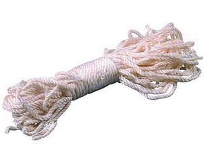 Веревка ЗУБР капроновая, d=4,0 мм, 20 м, 180 кгс, 6,5 ктекс