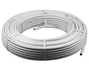 Труба металлопластиковая ЗУБР, 20мм, толщ. стенки 2мм, мет. слоя 0,2мм, макс. давл/10атм при т-ре 95 град, 100 м в упаковке