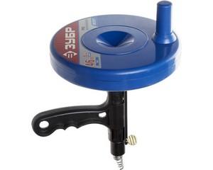 Трос сантехнический для прочистки труб и канализации в пластиковом корпусе, ЗУБР, ЭКСПЕРТ, 51907-05