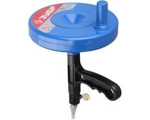 Трос сантехнический для прочистки труб и канализации в пластиковом корпусе, ЗУБР, ЭКСПЕРТ, 51907-08