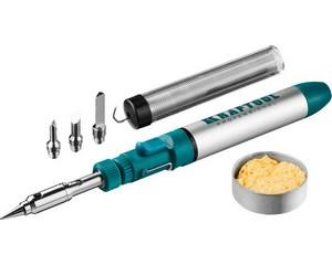 KRAFTOOL SolderPro 70B набор 8-в-1, газовый паяльник, горелка, фен, 30-70 Вт,  1300°С