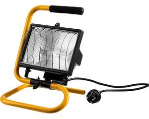 STAYER MAXLight прожектор 500Вт галогенный, переносной с подставкой, черный
